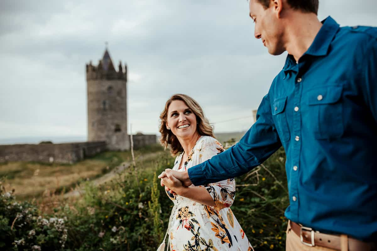 doonagore castle vow renewal photo