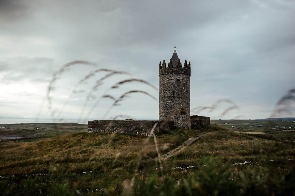 doonagore castle at sunset co clare