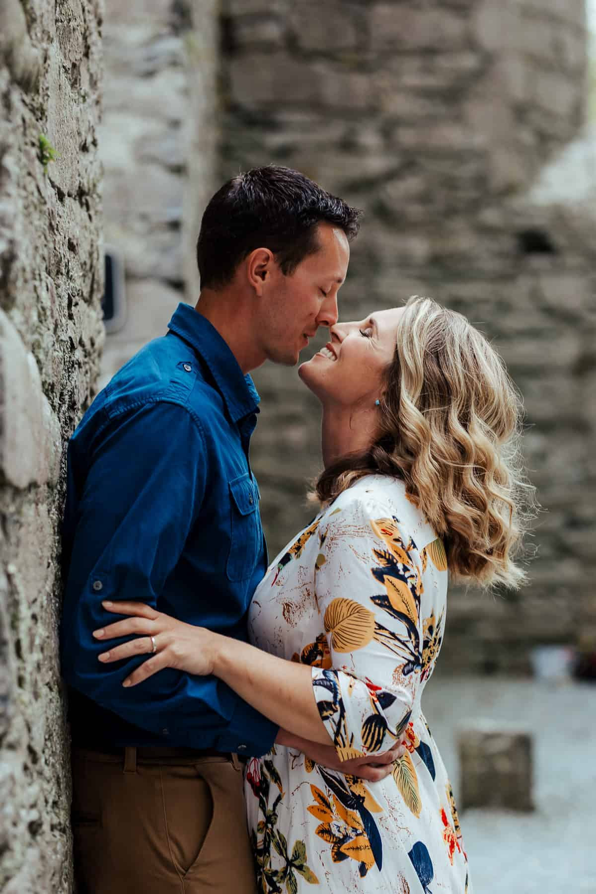 vow renewal photoshoot at corcomroe abbey co clare