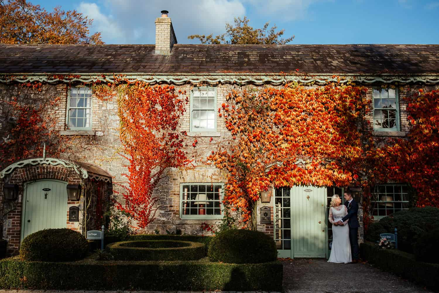 autumn wedding at cliff at lyons co kildare