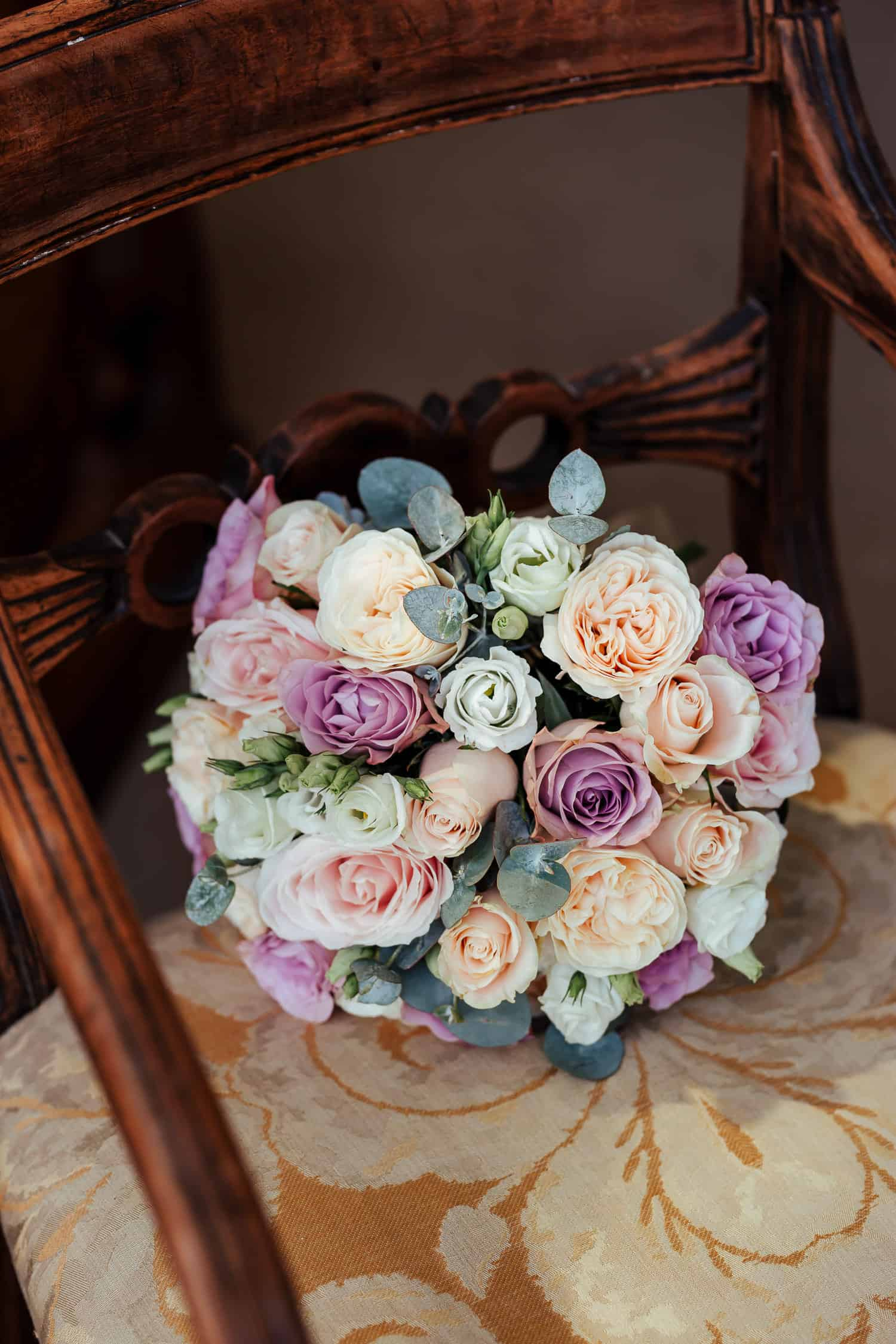 pastel rose bridal bouquet ab fab flowers