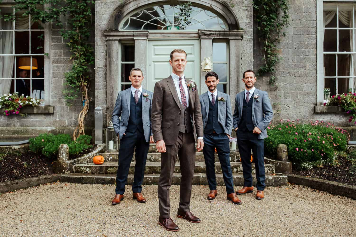 groom and groomsmen millhouse slane