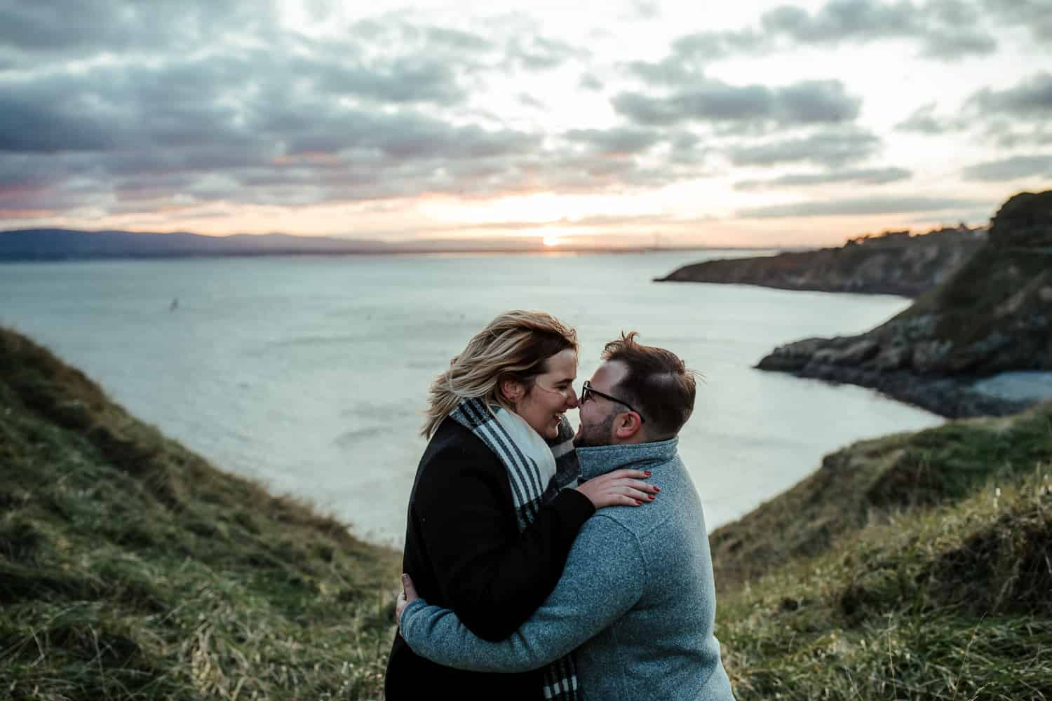 surprise proposal in dublin howth