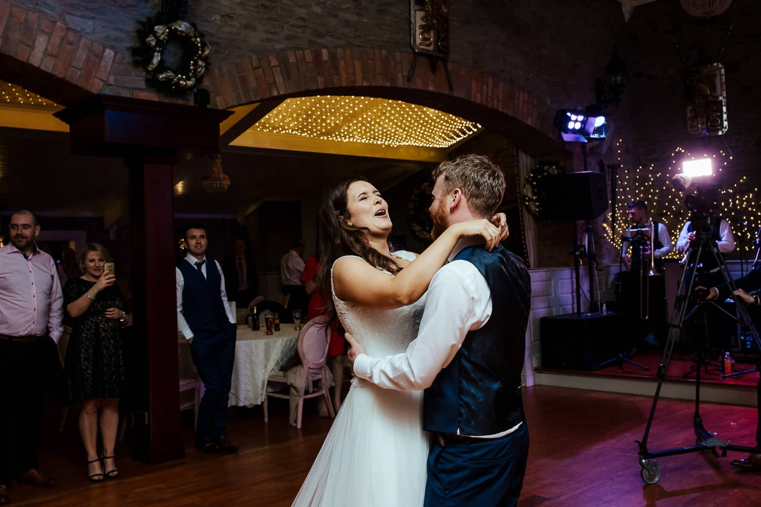 first dance at darver castle wedding