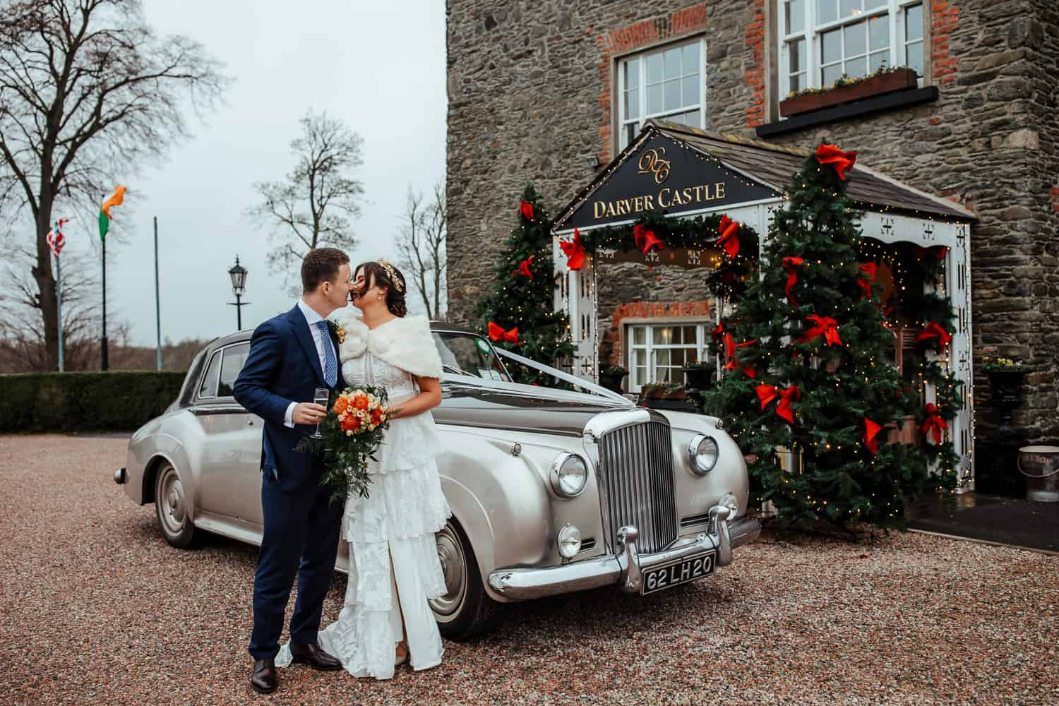 christmas wedding at darver castle