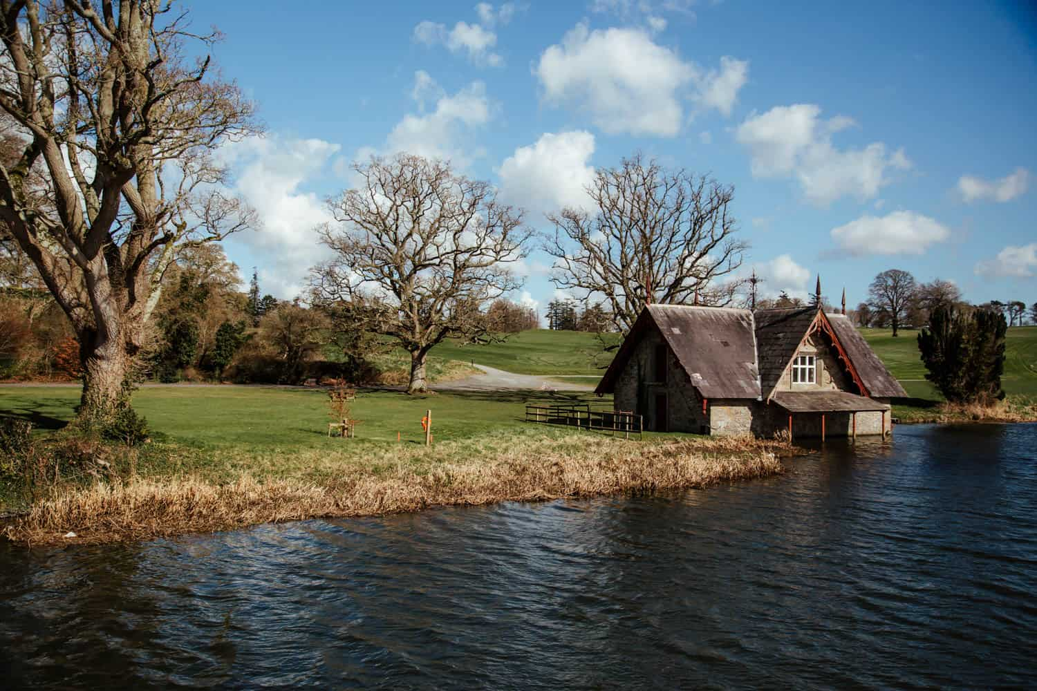 the boat house at carton house