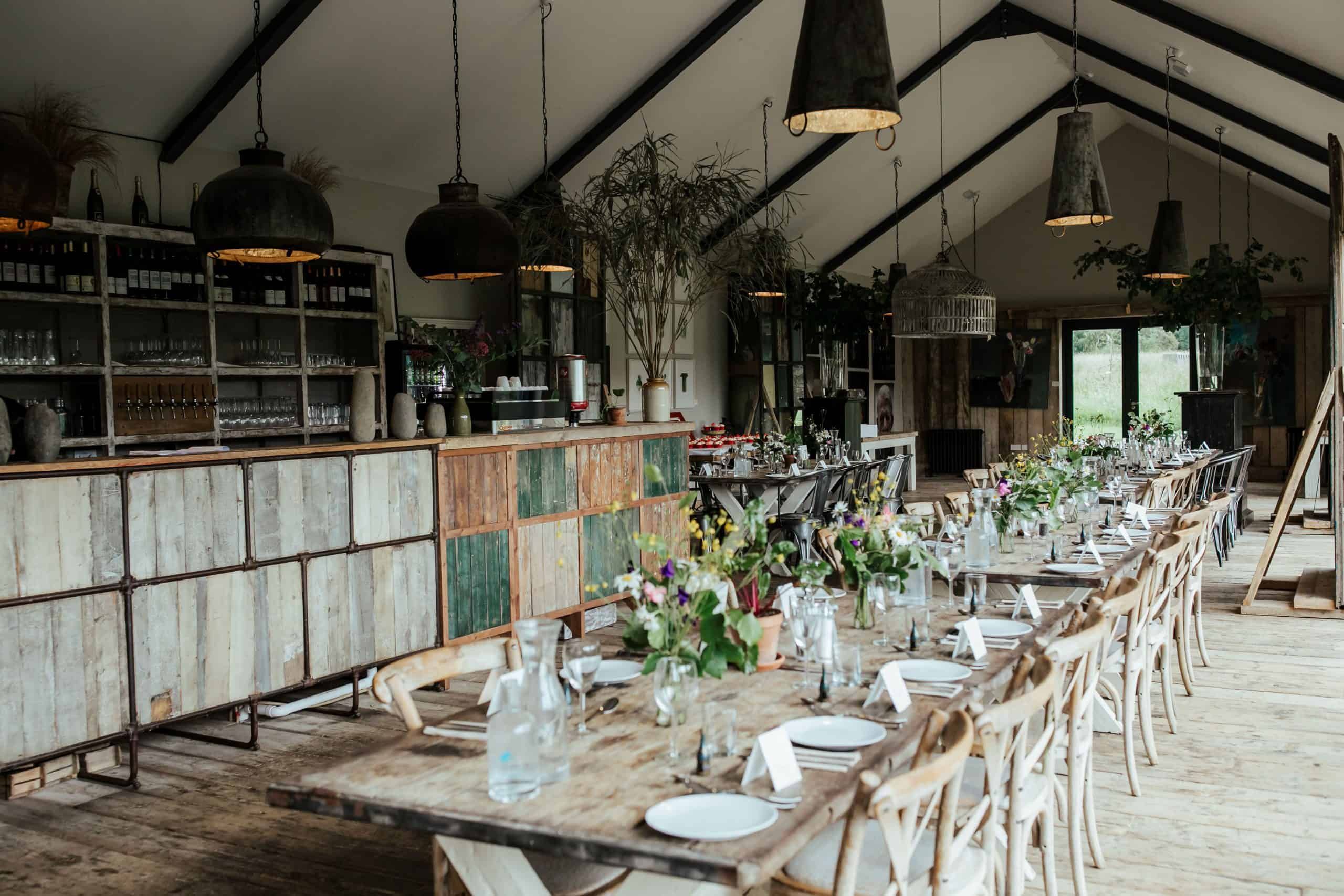 small wedding venues in kildare burtown house the green barn organic restaurant