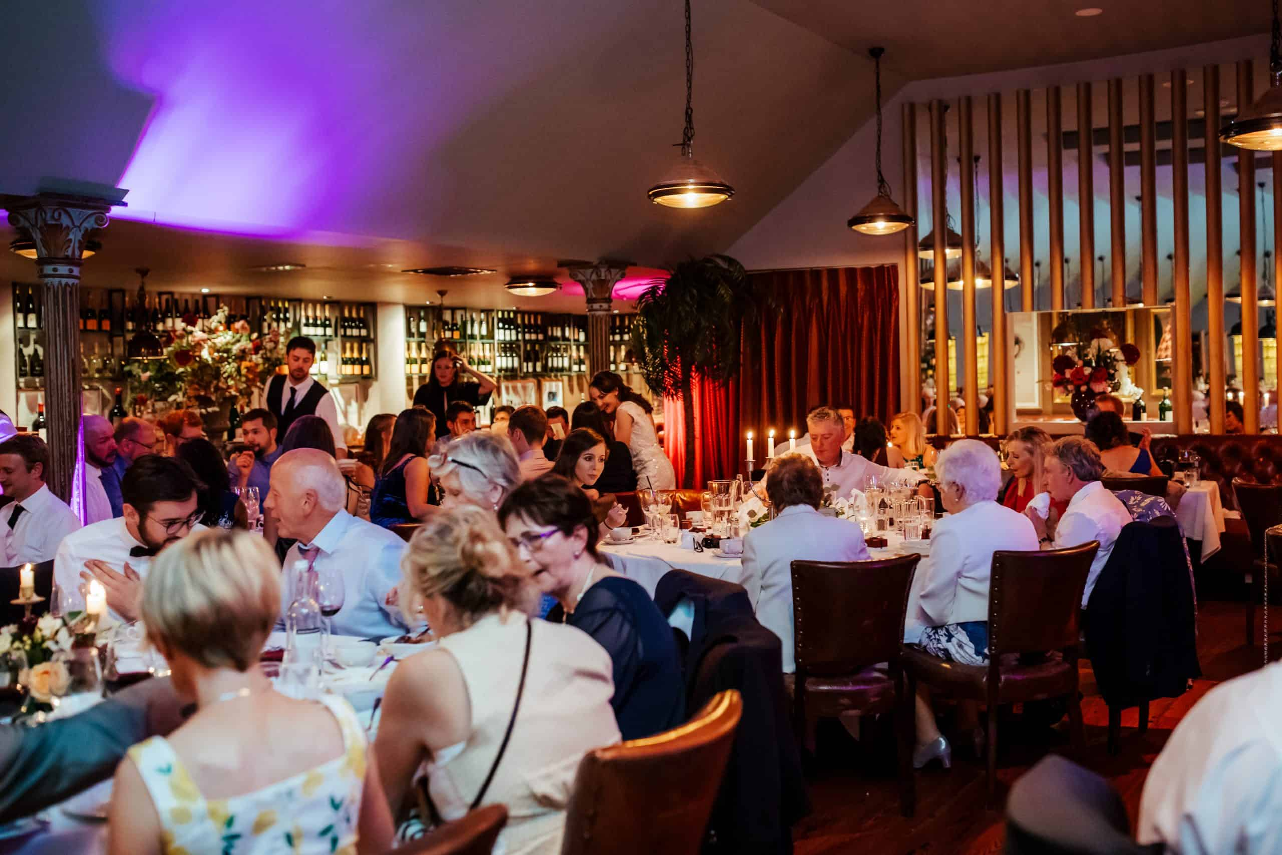 wedding at marco pierre white donnybrook restaurant wedding venues dublin