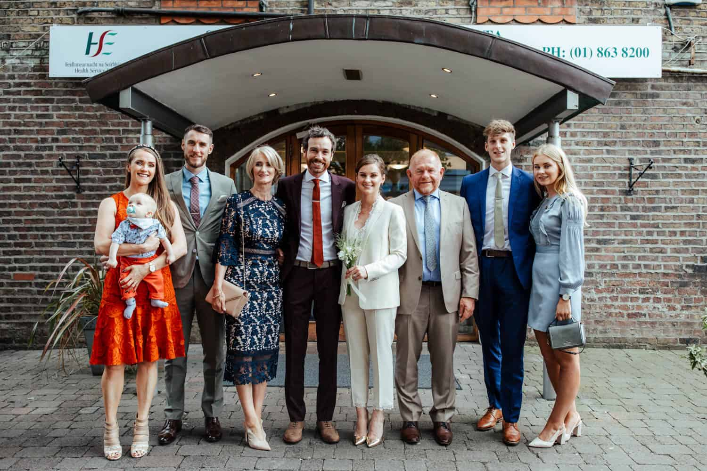 family photos dublin registry office wedding