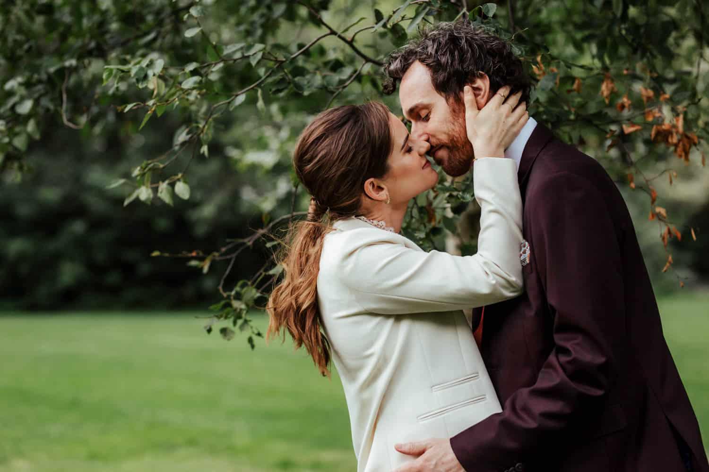 wedding photos merrion square dublin