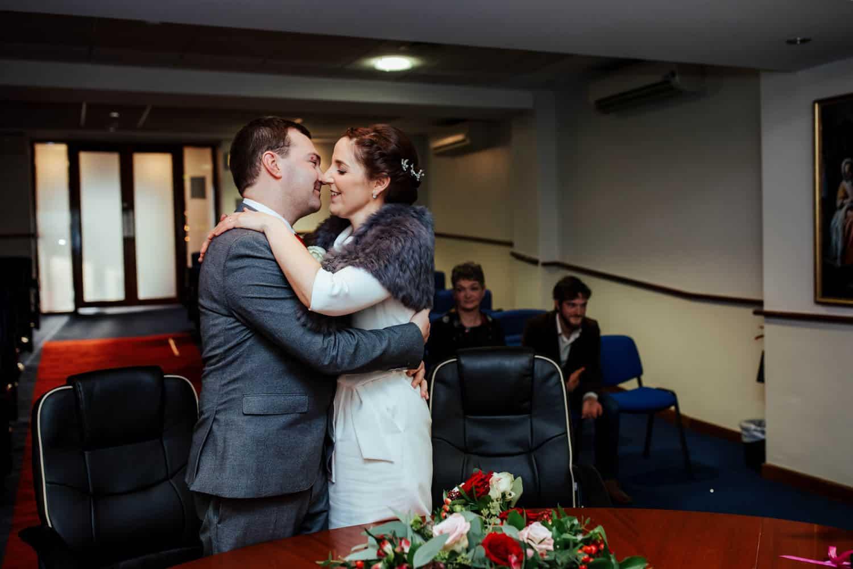 christmas wedding dublin registry office