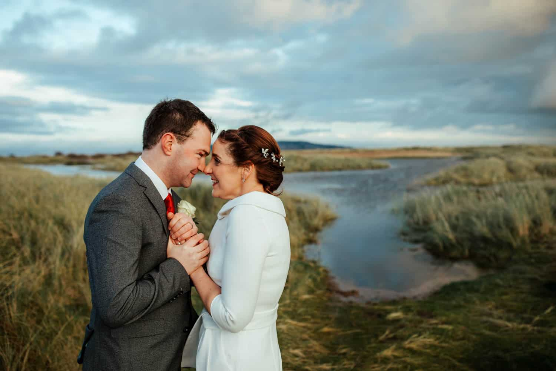 wedding photos in bull island dublin