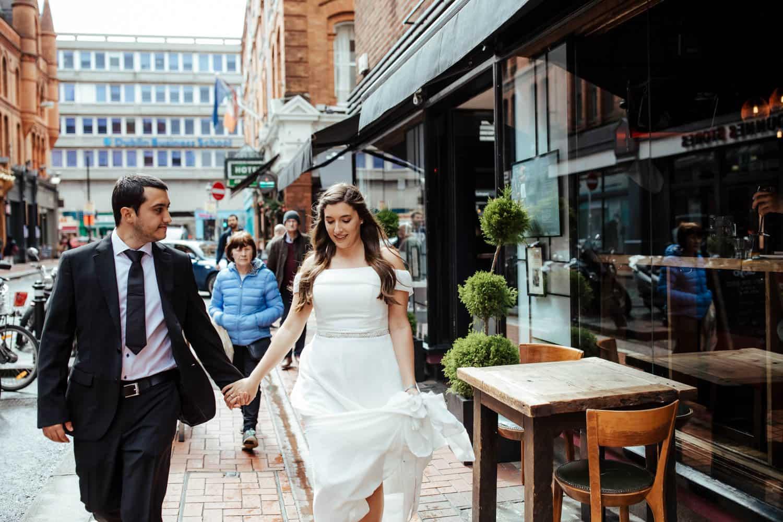 wedding photo in dublin