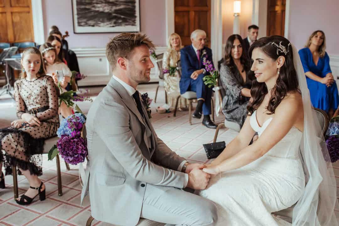 the shelbourne hotel wedding ceremony